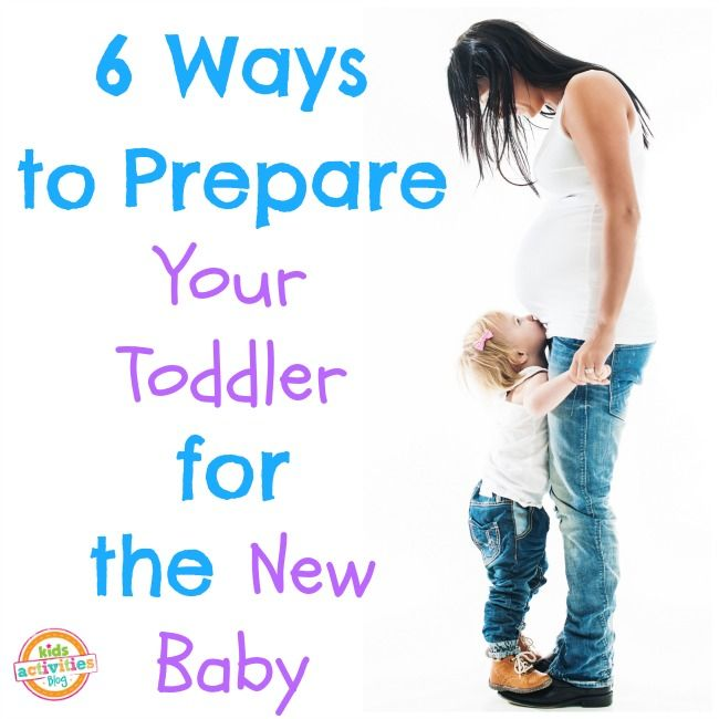how to prepare child for new baby