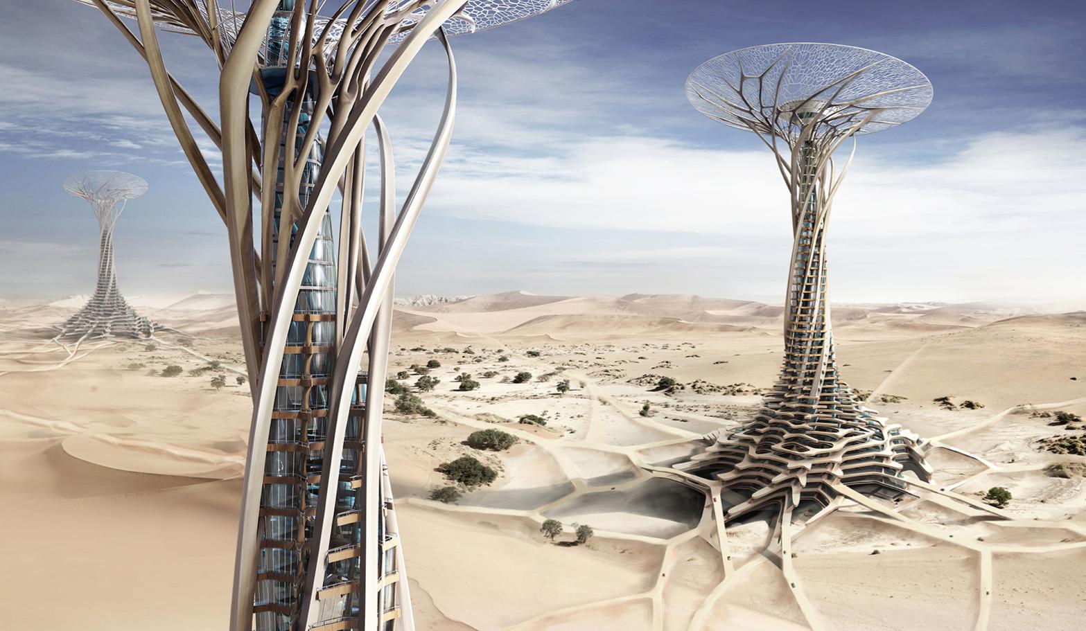 Futuristic Skyscrapers!