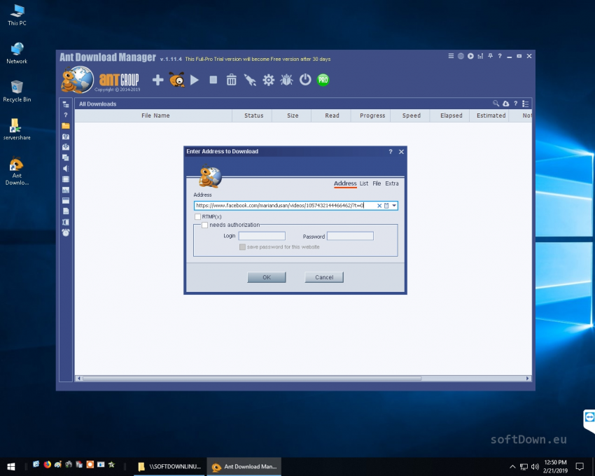 Ant download manager and audio, video downloader.
