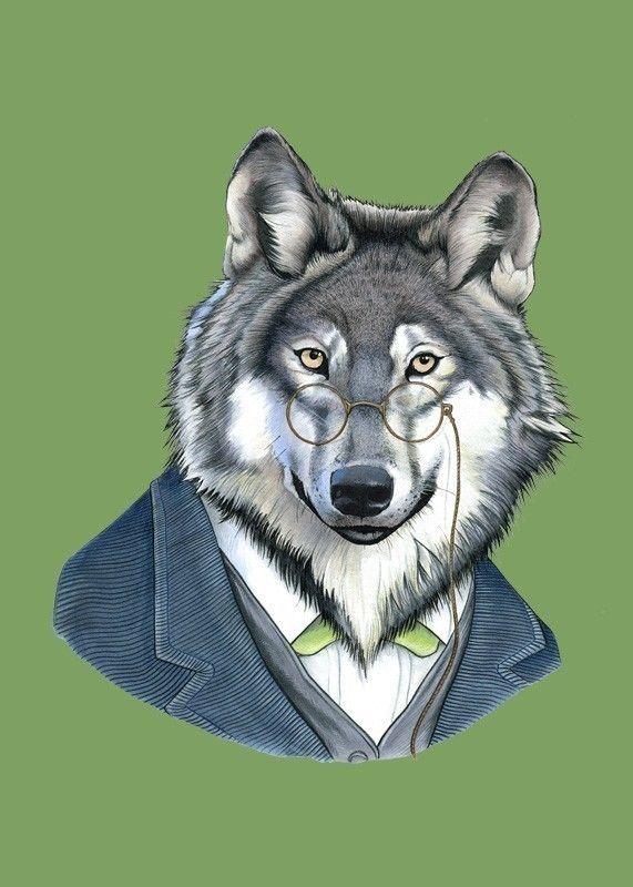 Красивые котята, прикольный волк рисунок