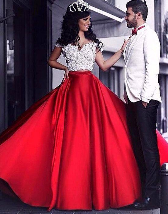 f036e4d2257 Charming Long Prom Dress