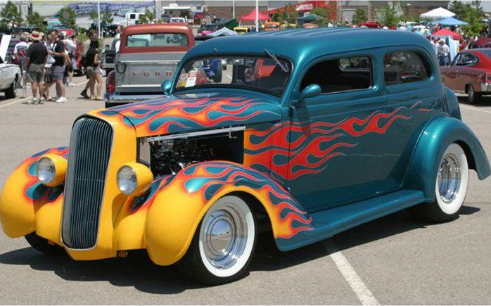 1936 Plymouth 2 Door Sedan Flathead Six - YouTube