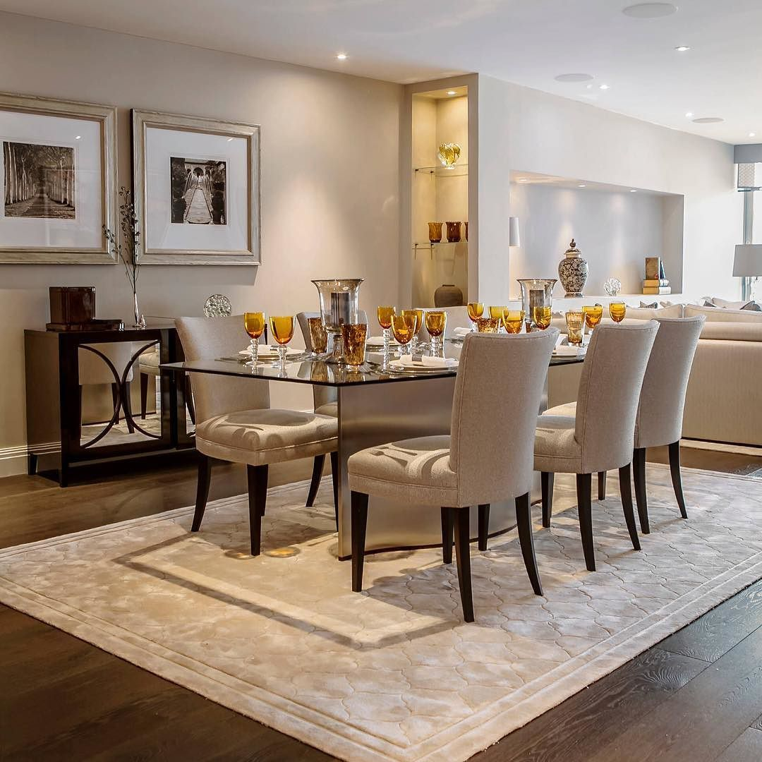 Transitional Dining Room Design Ideas: By Kitchen_design_ideas #kitchendesigns
