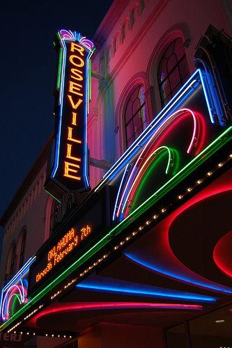 Roseville Theatre......Roseville, California  We lived in Roseville when Makenzie was born <3