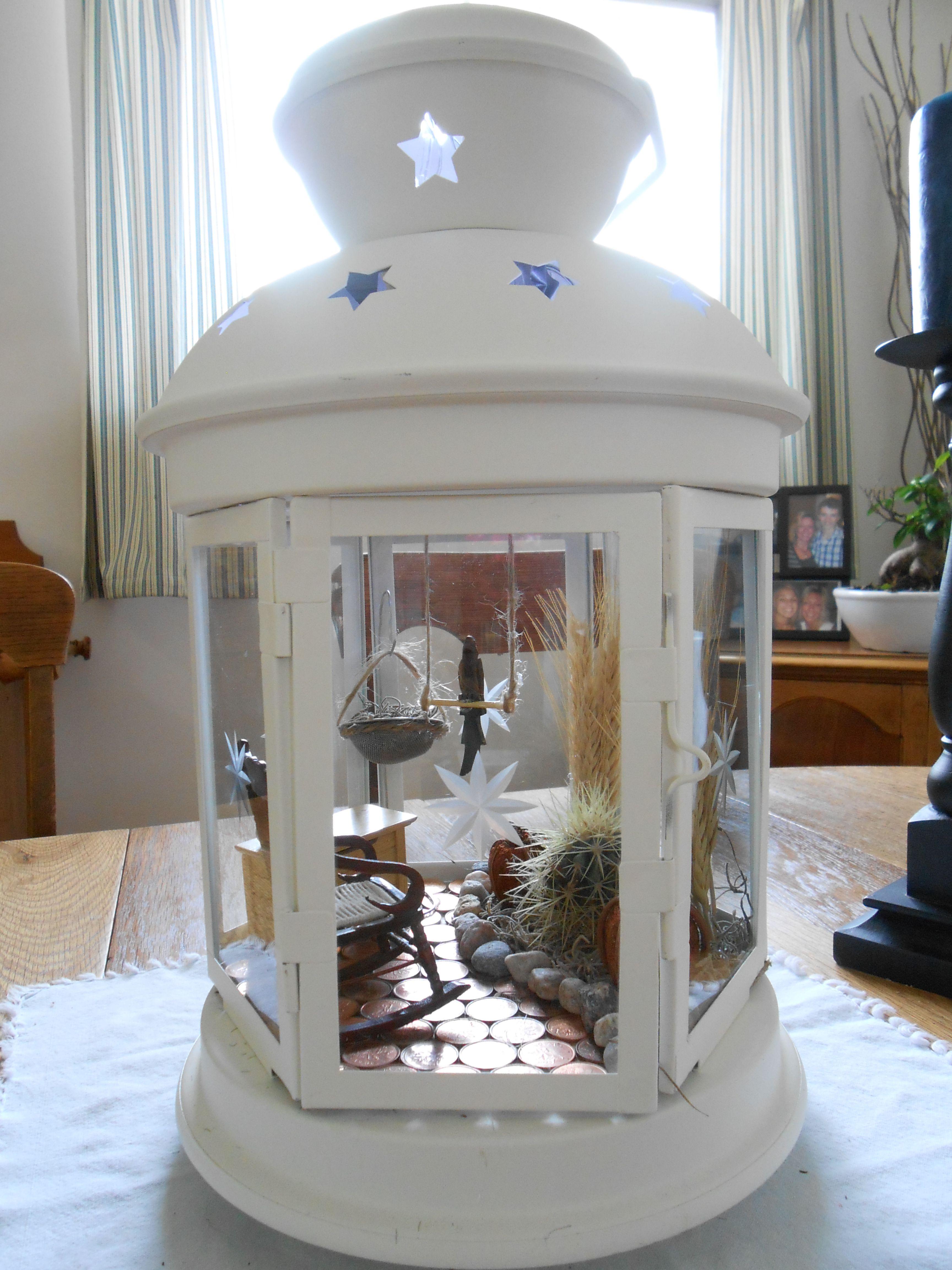 Garden Gazebo Lantern Diy Christmas Decorations Easy Christmas