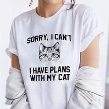 Sorry, I Can't I Have Plans With My Cat Shirt (Mul