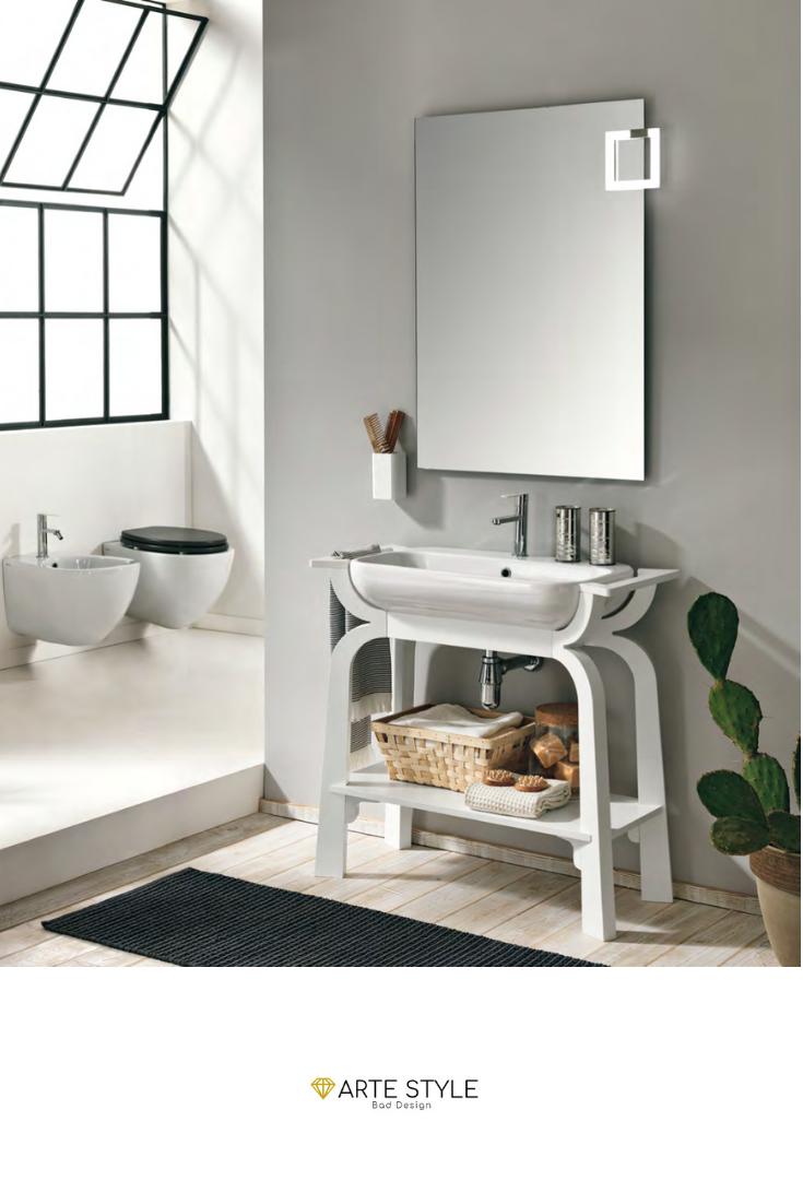 Design von badezimmer badmöbelset sibilla in bianco design by roberto giacomucci