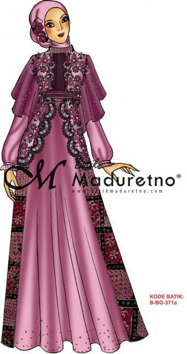 Model Baju Atasan Santriwati