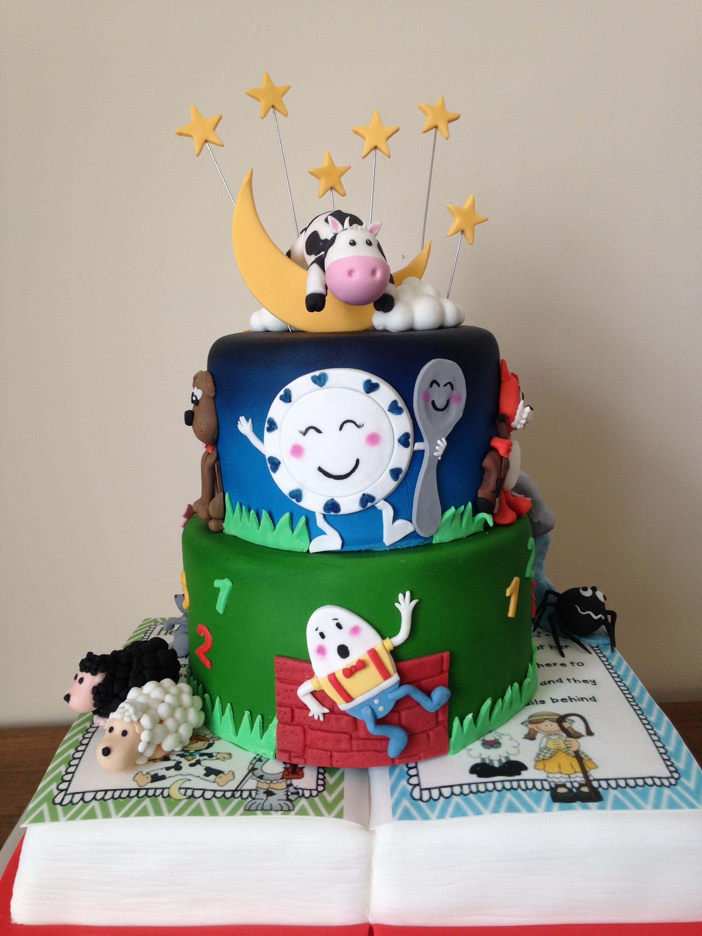 Ty Coffi Cakes Nursery Rhyme cake | Nursery rhyme party ...