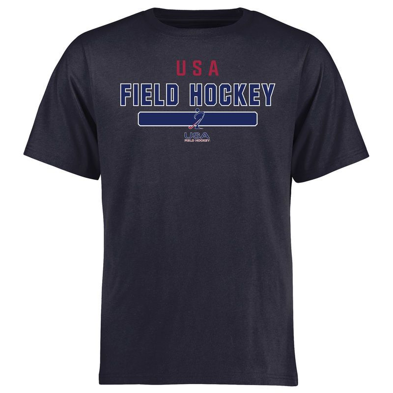 Usa Field Hockey Ngb Team Strong T Shirt Navy Field Hockey Hockey Gear Hockey