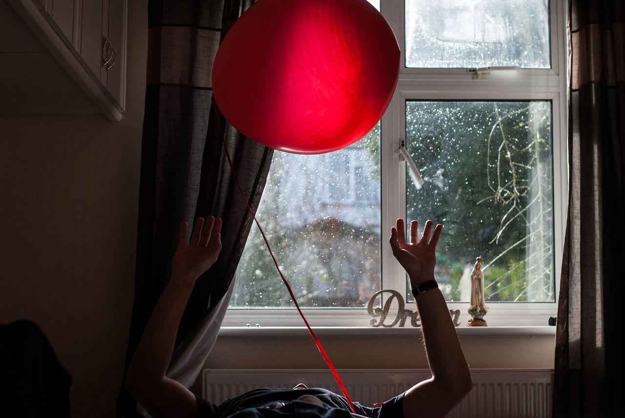 memories of a valentine's day.  #love #balloon #red #valentine #inspiration #dream