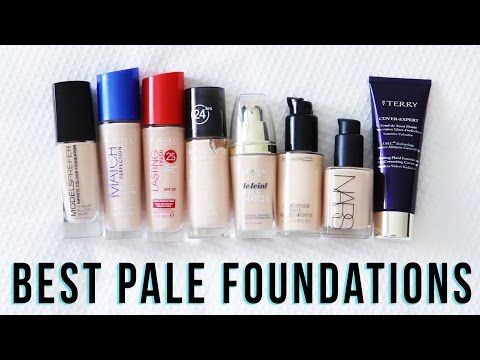 Best Foundations For Pale Skin // onceuponabeautytime - YouTube