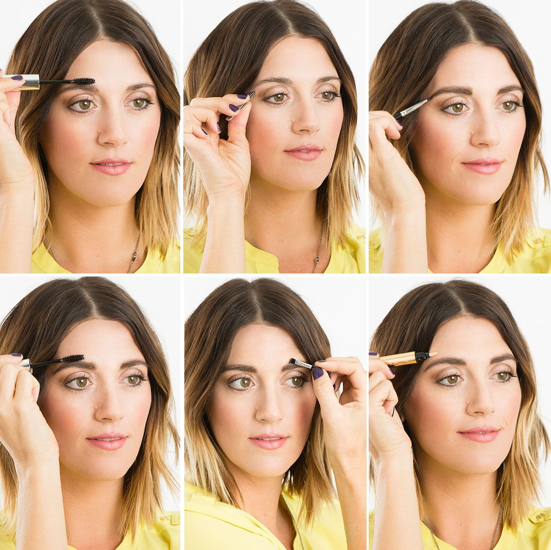 How to DIY Full, Natural Brows like Lea Michele   Natural ...