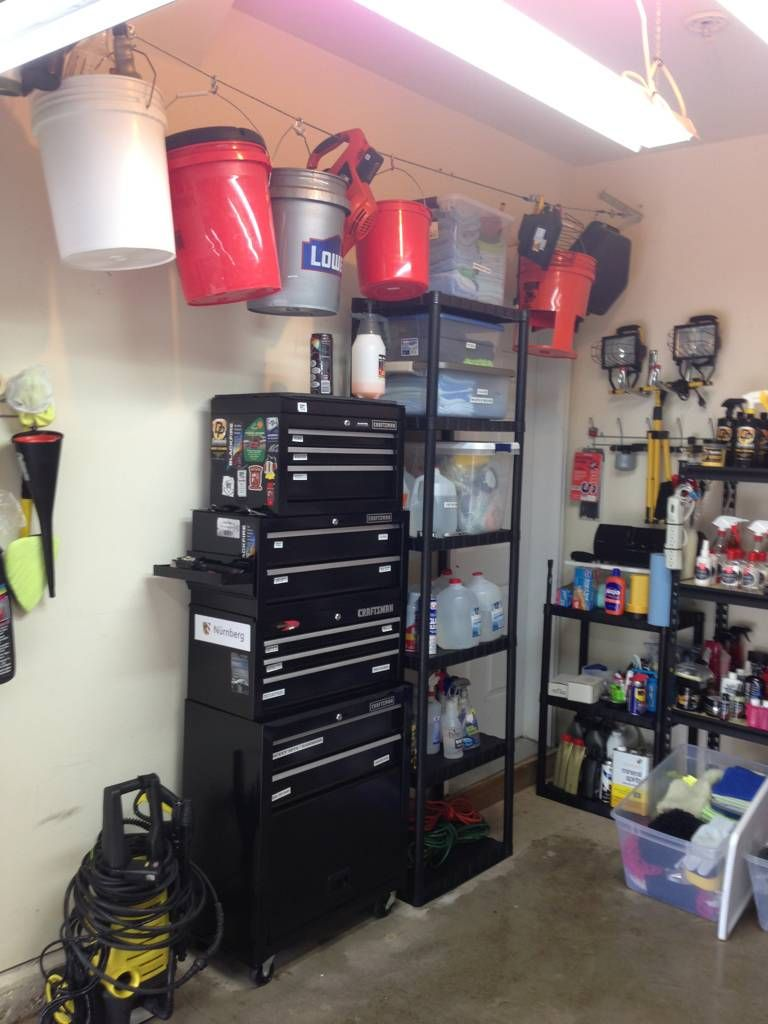 How do you store your supplies? in 2020 Car detailing