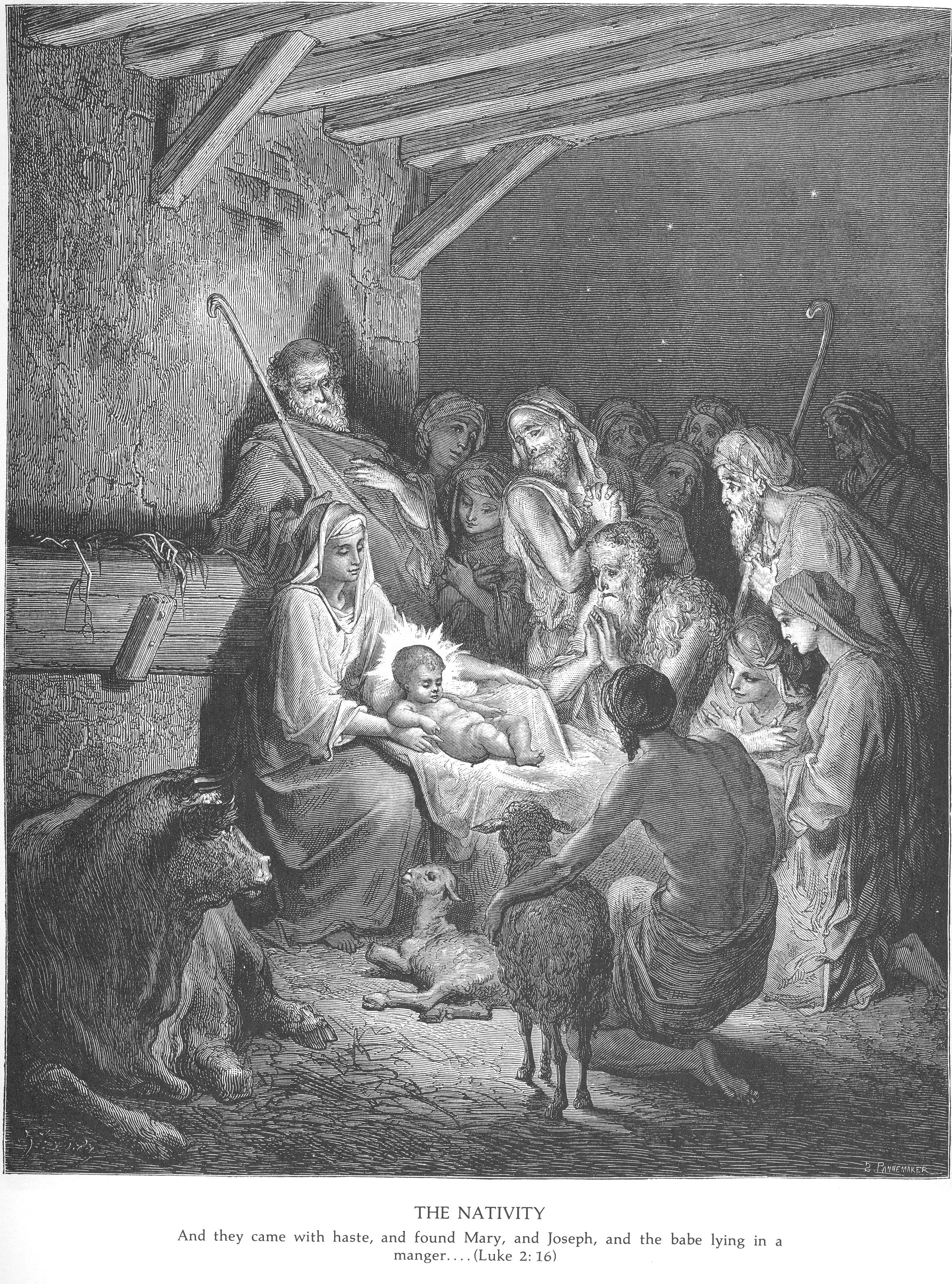 The Nativity, Gustave Dore Serie: The Holy Bible