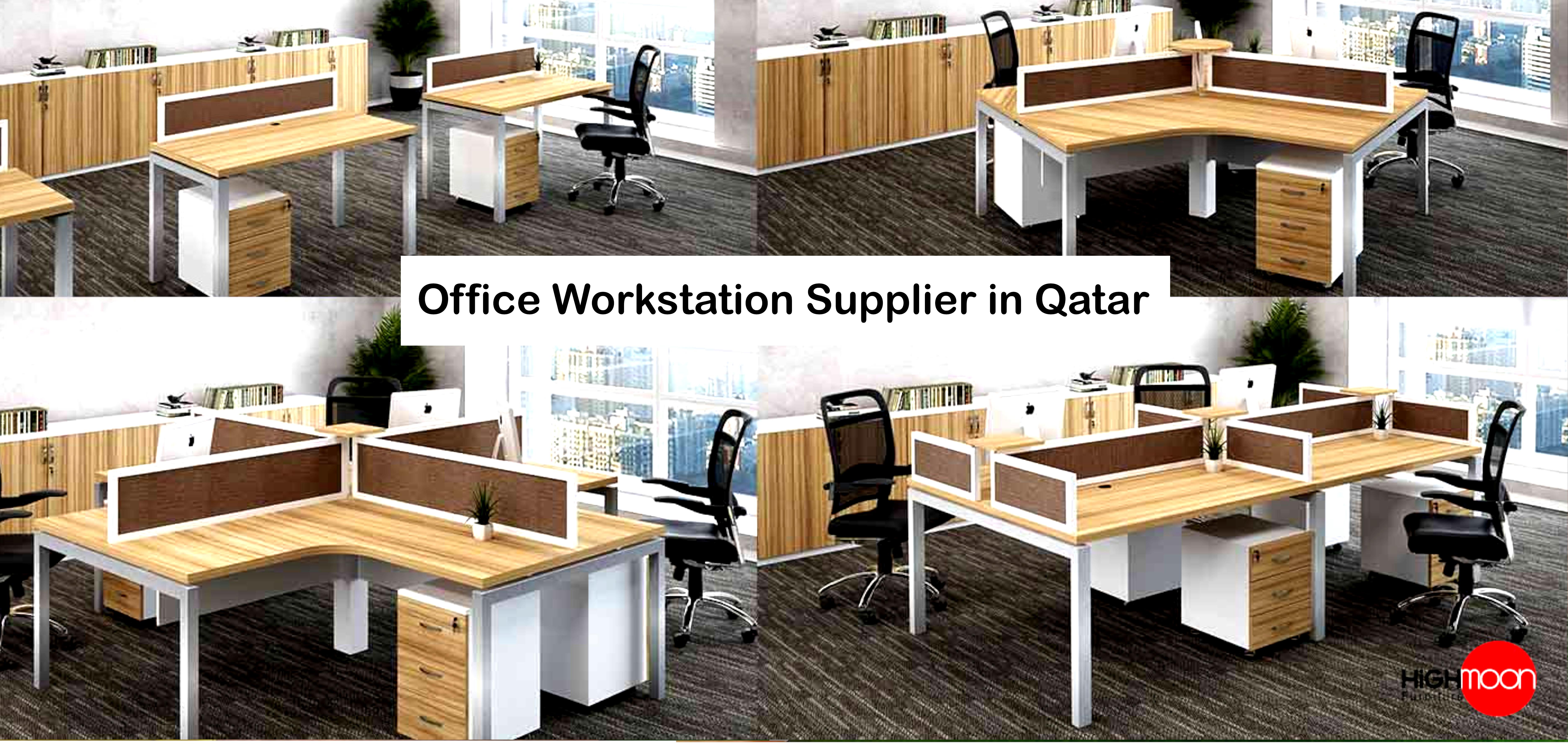 Office Workstation Supplier In Qatar Highmoon Office Furniture Office Workstations Workstation Luxury Office Furniture