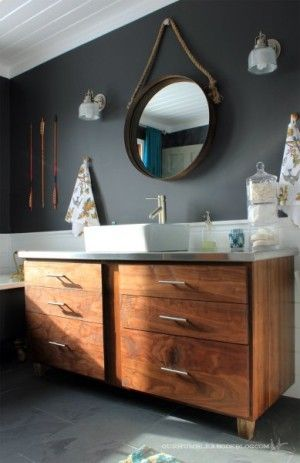 Modern Industrial Bathrooms Modern industrial, Industrial and