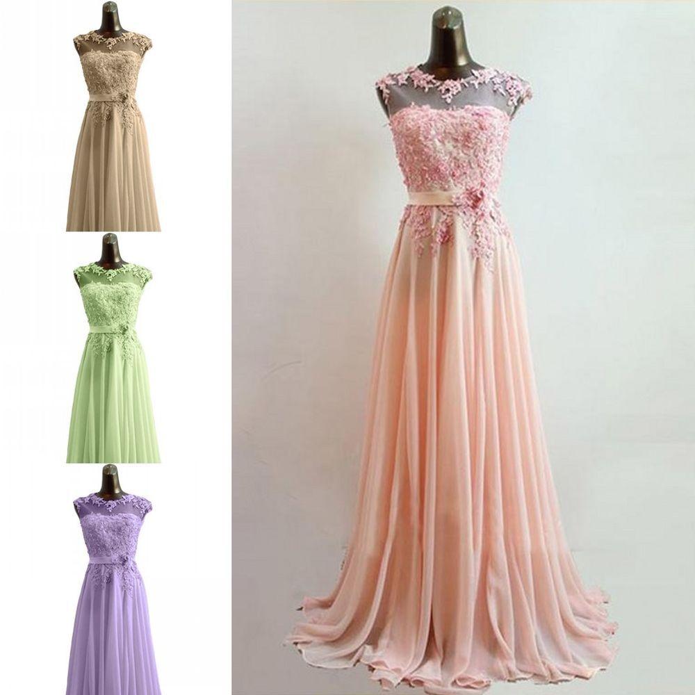 Romantisch Rosa Abendkleider Ballkleider Cocktailkleider Gr.36 38 40 ...