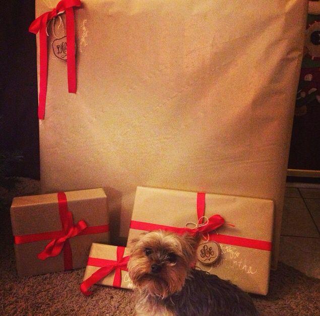 Christmas wrapping #christmas #wrapping #diy