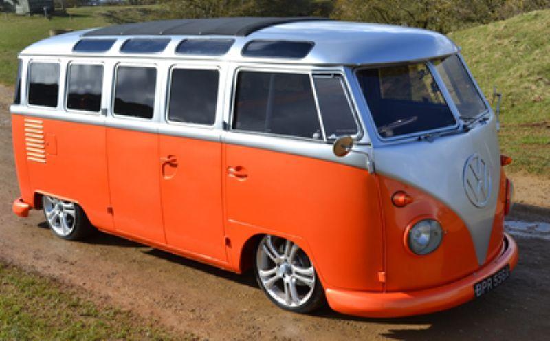 1963 Vw Bus Twin Barn Door 23 Window Slammed Samba1776cc