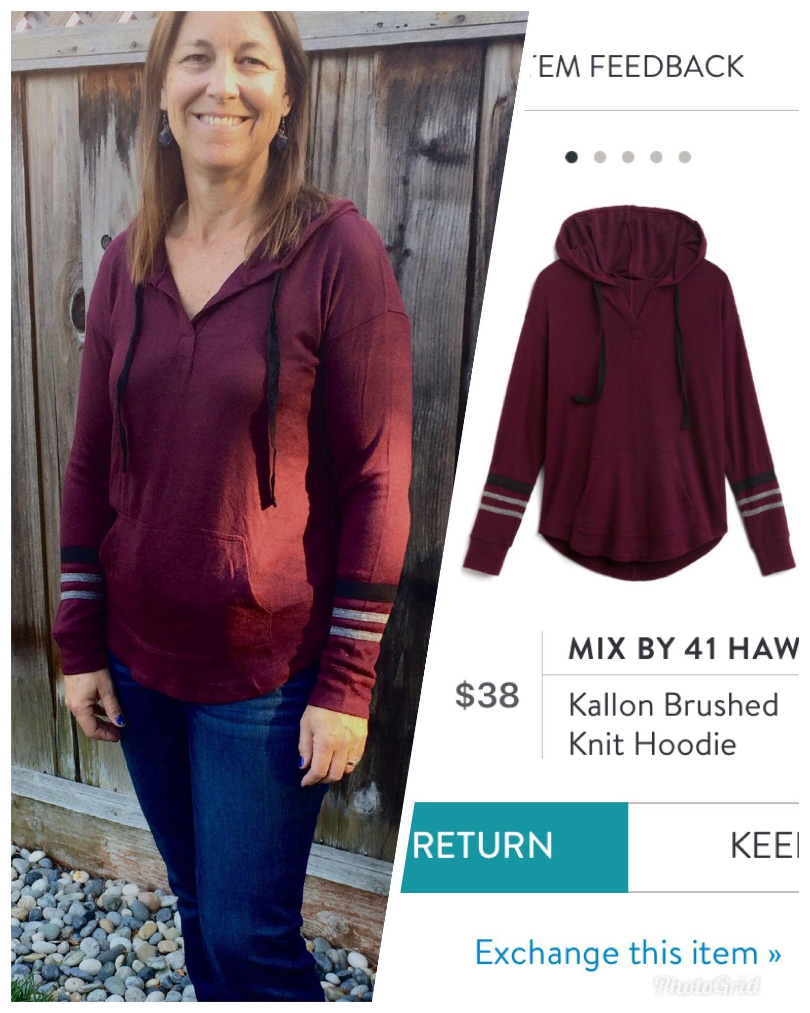 Fix #8 (Oct 2018) Mix by 41 Hawthorne Kallon Brushed Knit