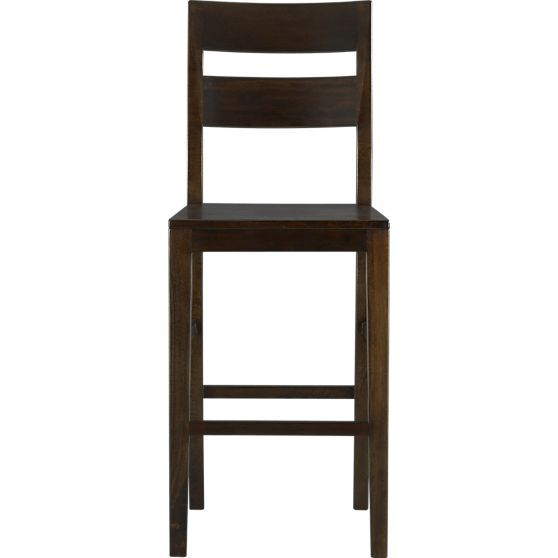 Basque Java 30 Bar Stool Crate And Barrel These Would Look Good With A Cushion Bar Stools Counter Stools With Backs 30 Bar Stools