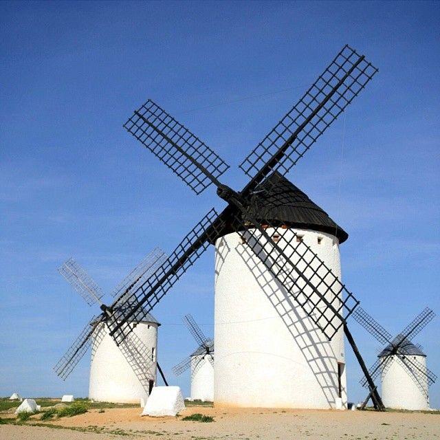 Campo de Criptana in Castilla-La Mancha