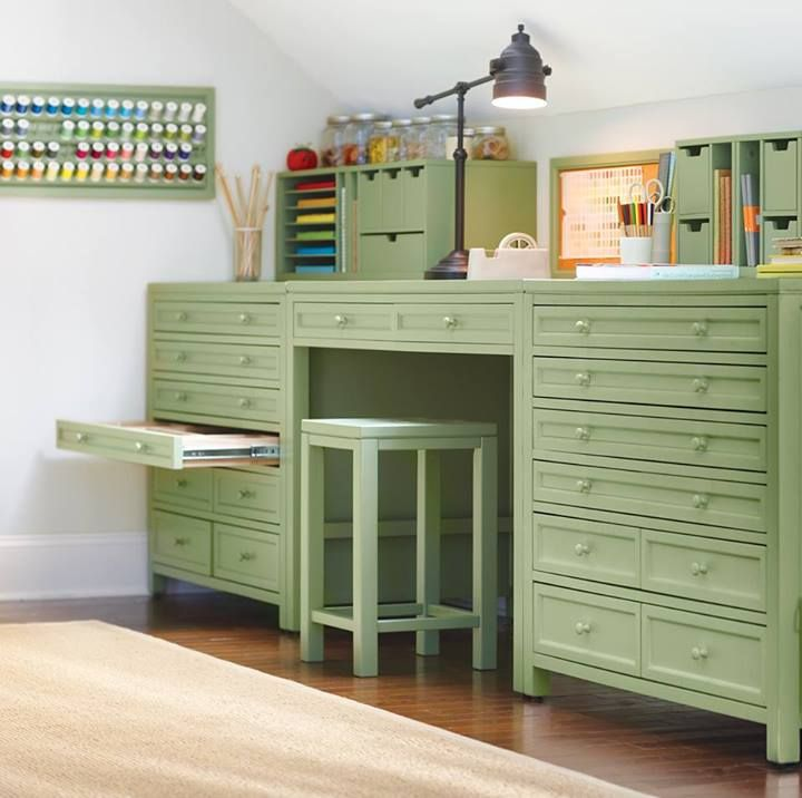 Craft Room Storage, Space