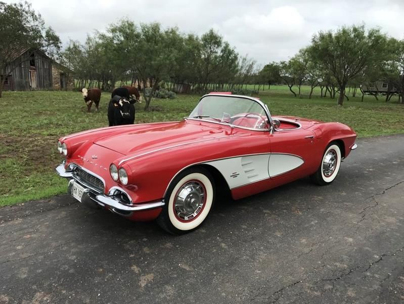 1961 Chevrolet Corvette For Sale All Collector Cars Muscle Cars Chevrolet Corvette Corvette