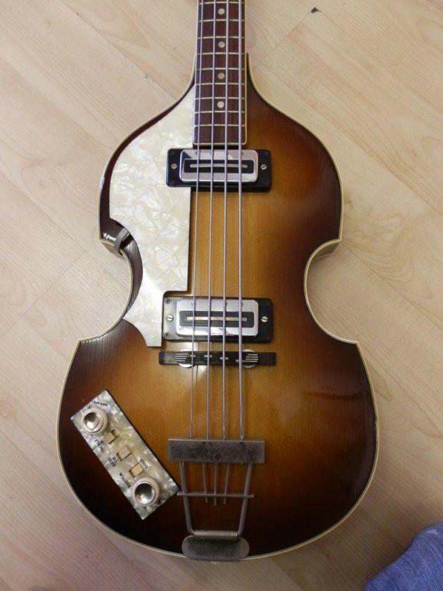 Beatles Guitars: Paul McCartney Used/Played Hofner Bass