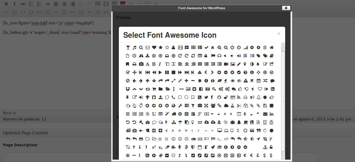 Font Awesome Icons + Bootstrap Buttons Bootstrap button