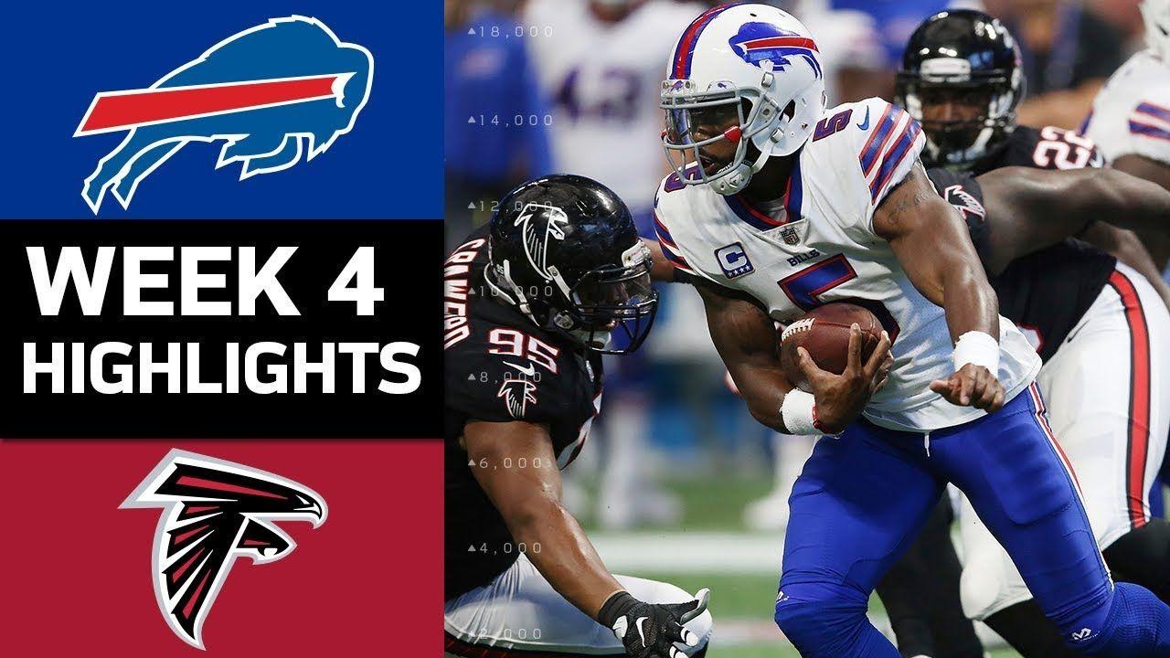 Bills vs. Falcons NFL Week 4 Game Highlights Nfl week