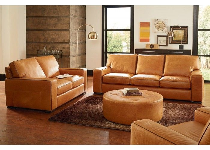 Natuzzi editions b859 sofa set leather furniture expo for Ecksofa cognac