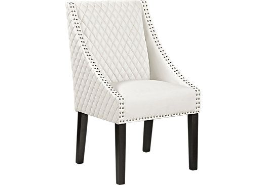Superb Eastwater White Side Chair . $149.99. 21W X 22.5D X 36.5H. Find