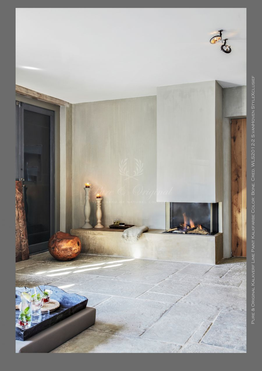 Kalkfarbe Fresco Kalkfarbe Wohnzimmer Farbe Haus Deko
