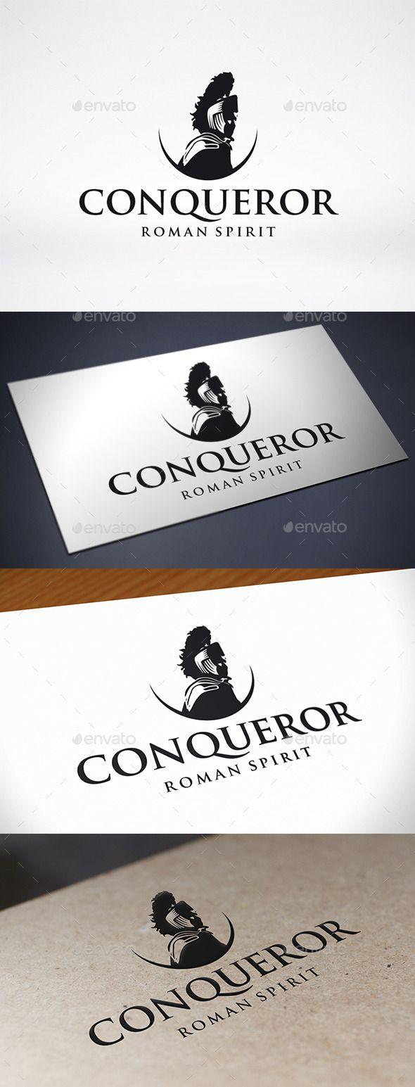 conqueror logo template pinterest logo templates template and logos