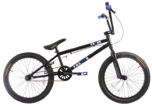 Framed Forge BMX Bike Black/Blue 20\