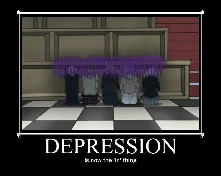 Motivational Poster:Depression by ~Reicheru-Fokkusu on deviantART ...