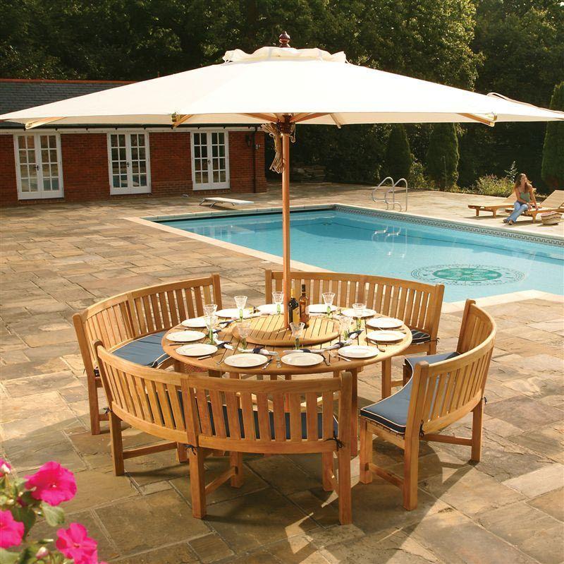 Buckingham Teak Dining Set Teak Outdoor Furniture Rustic