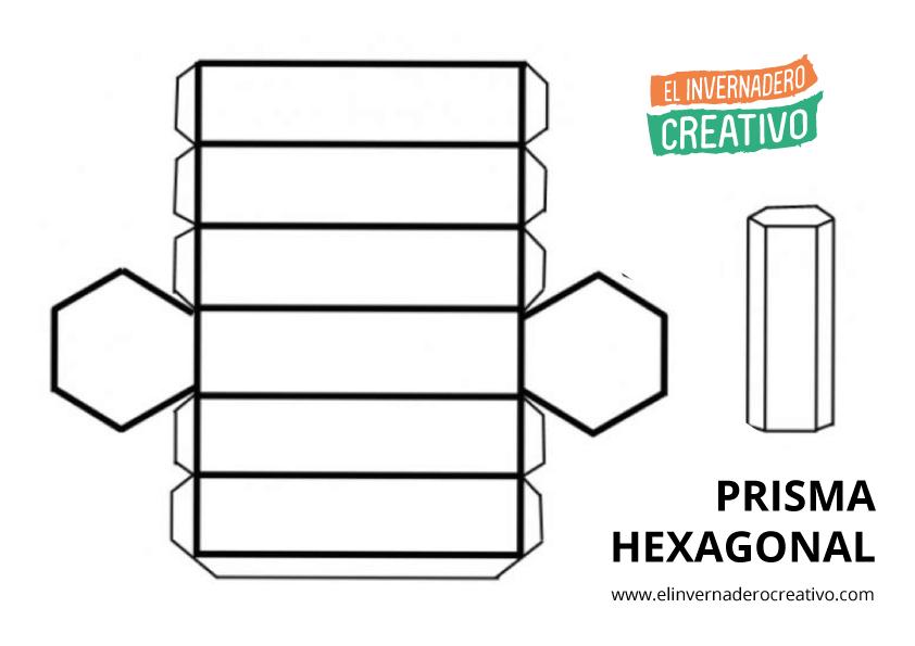 Plantillas de figuras geométricas: Cubo, ortoedro y primas ...