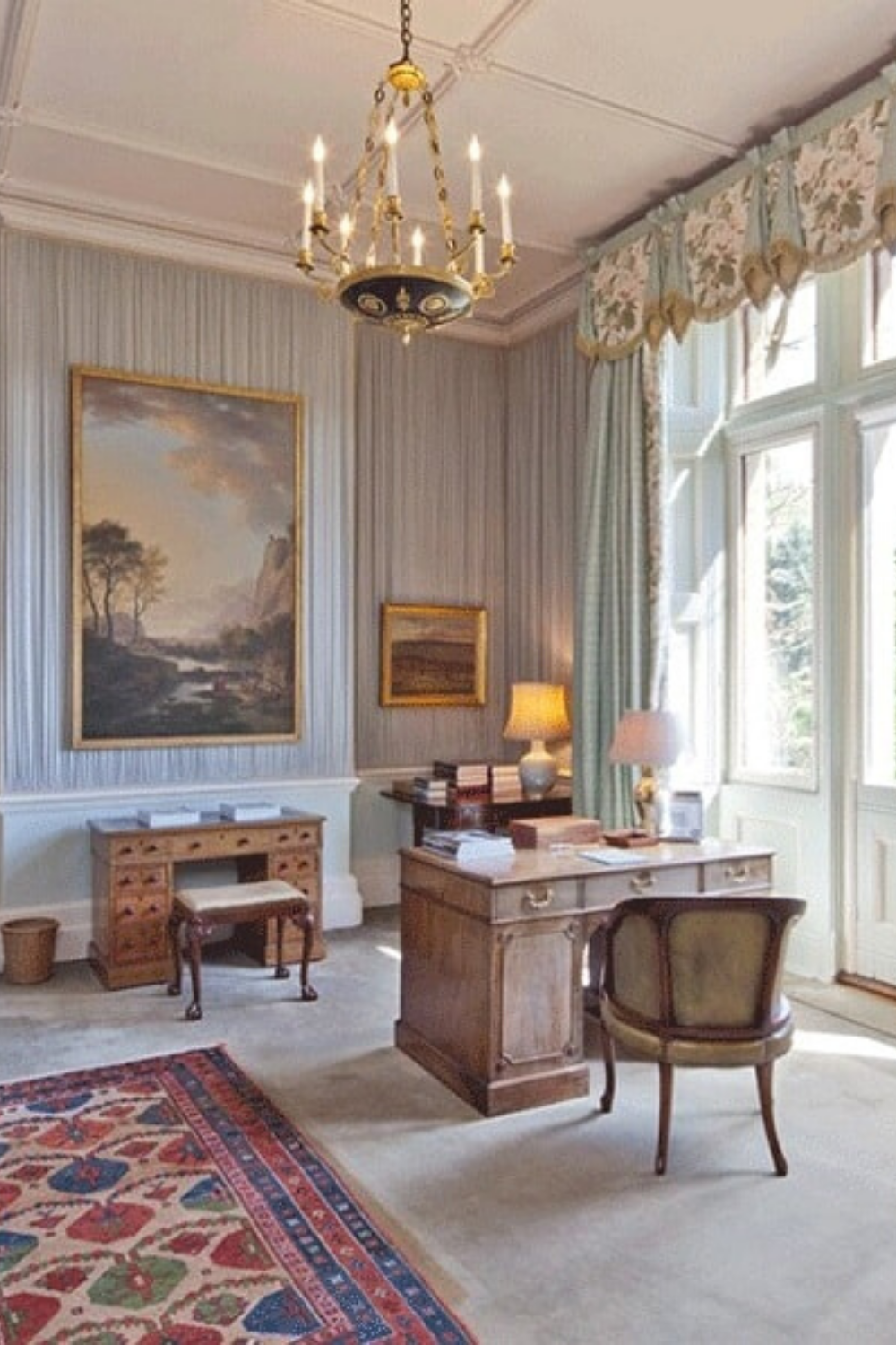 Office Room Design Software: David Beckham's Home In Cotswolds, UK (Purchased For $41.7
