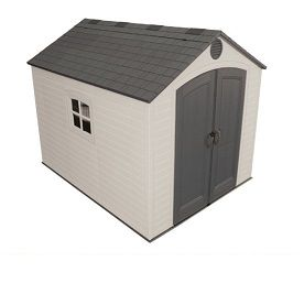 Lifetime Outdoor Storage Shed 6405 Sentinel 8 X 10 Ft Plastic Storage Sheds Lifetime Storage Sheds Shed Storage