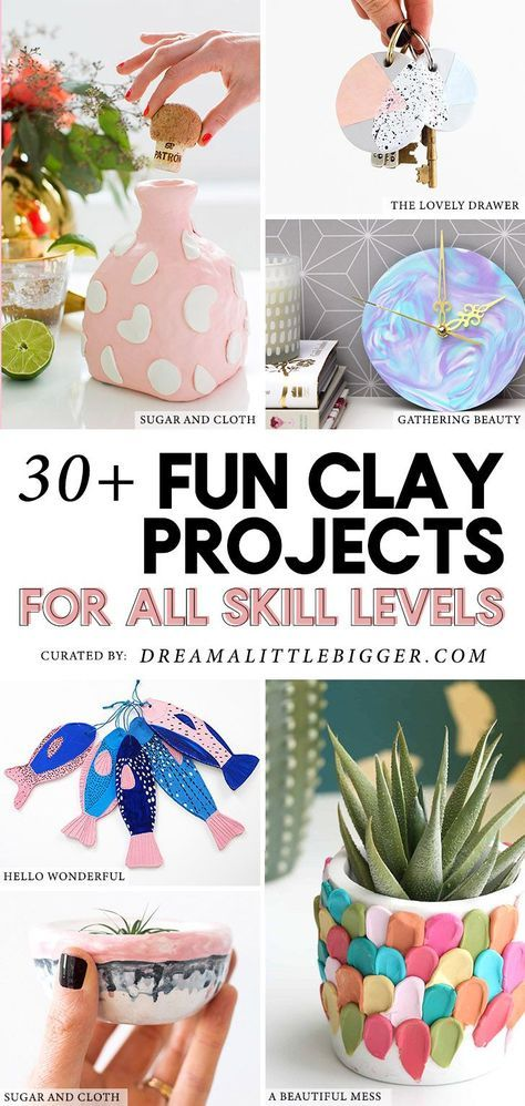 Photo of 30+ Clay Projects Perfect for Anytime