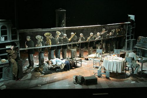 Scene from Vassili Grossman's Life and Fate, directed by Lev Dodine, 2007