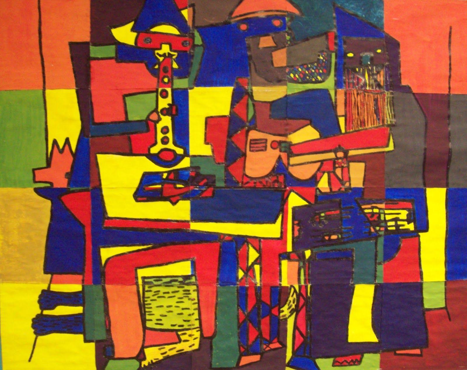 My Artful Nest Picasso S Three Musicians