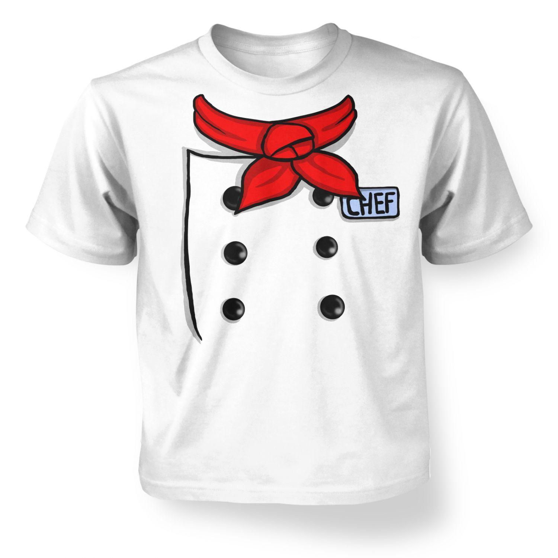 Design t shirt kid - Chef Costume Kids T Shirt Kids Tshirts