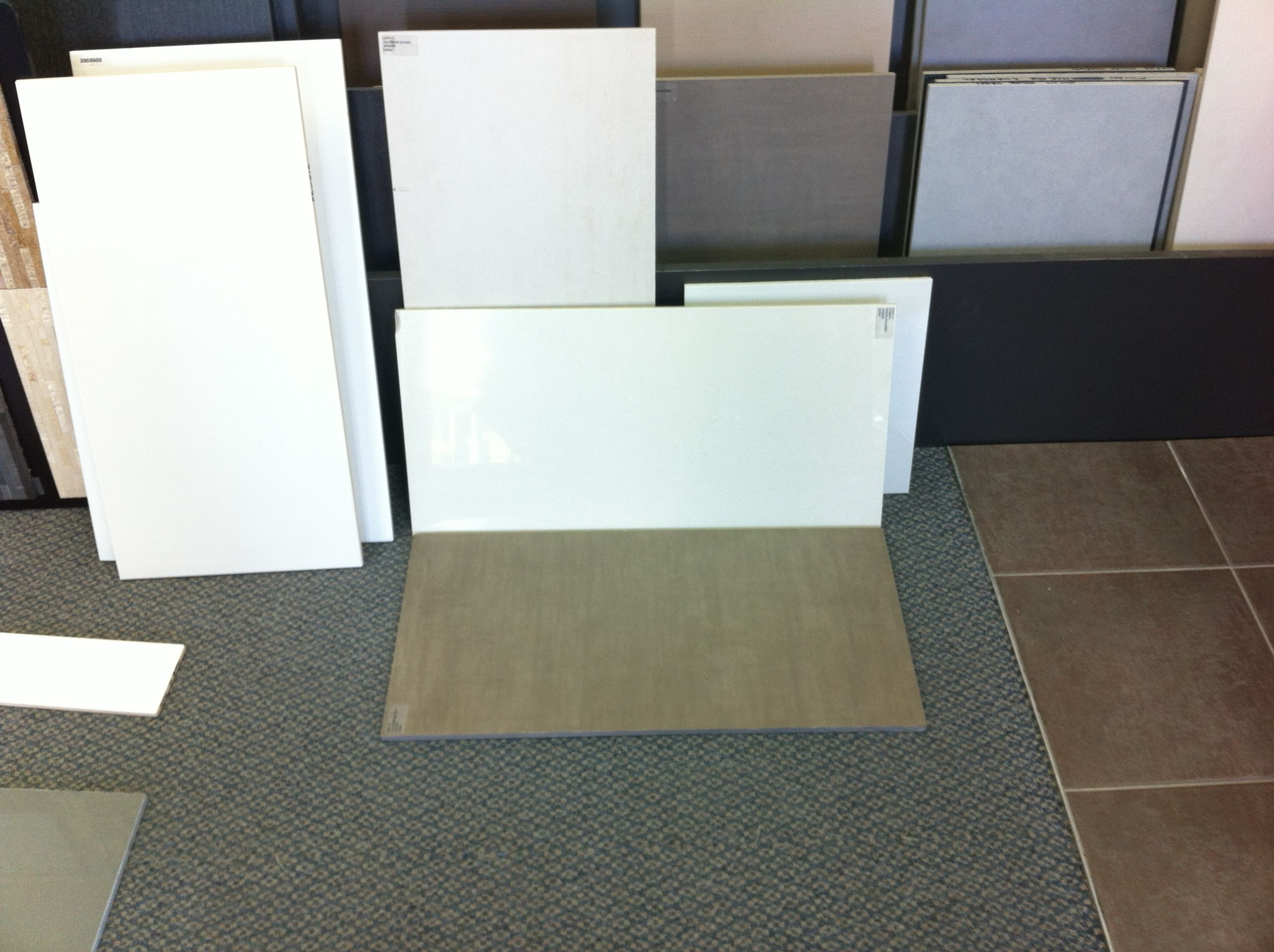 Made our tile selection for bathrooms and off-garage corridor. We ...