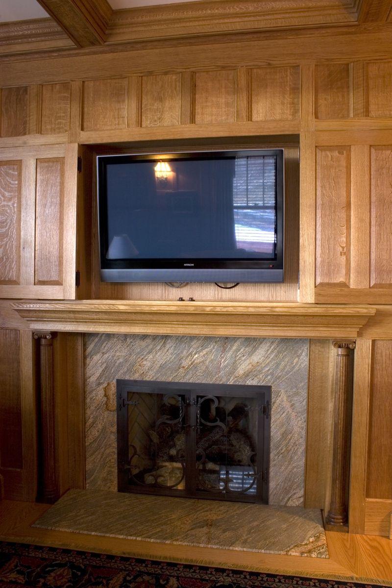 Oak Paneled Room: Quartered Oak Paneled Study