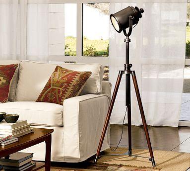 Photographer S Tripod Floor Lamp Potterybarn I Think I Need