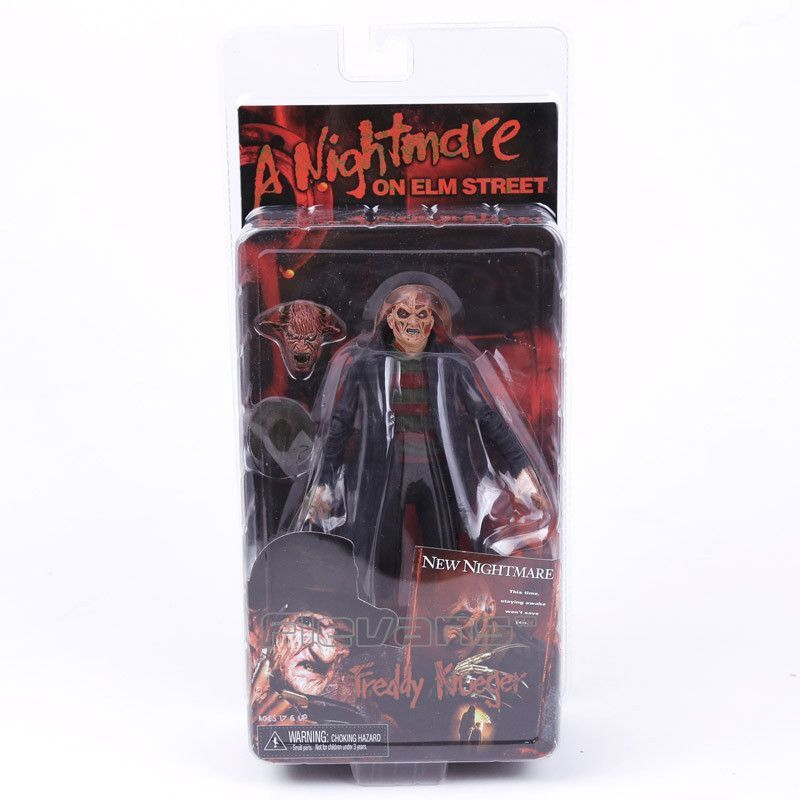 NECA a Nightmare on Elm Street New Nightmare Freddy Krueger PVC Action Figure Collectible Model Toy